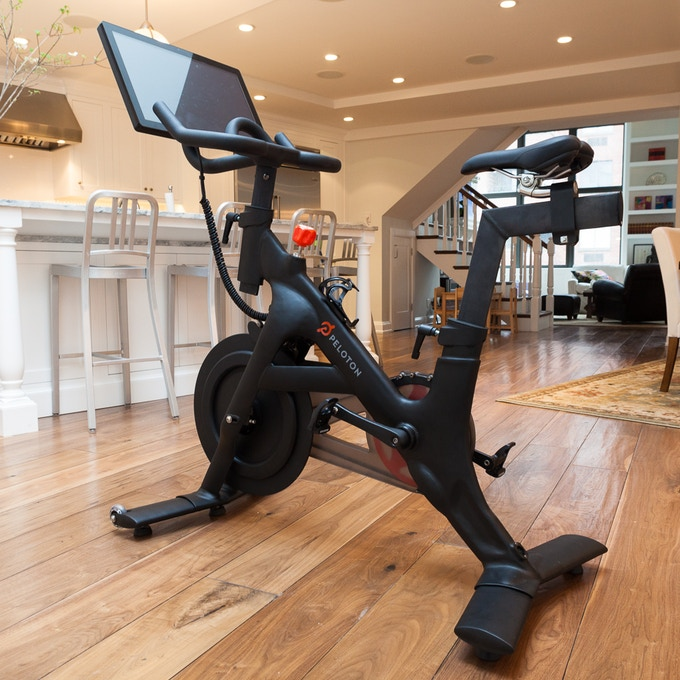 The Peloton Bike Bring Home The Studio Cycling Experience