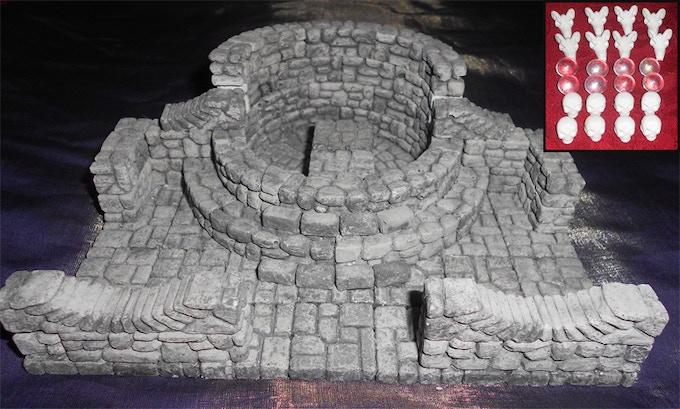 """Altar of Sacrifice, 7""""x6"""""""
