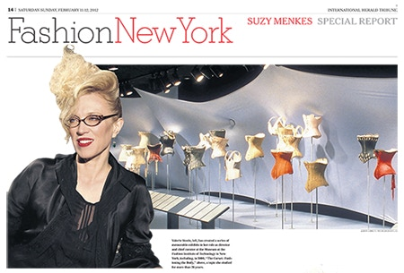 "Suzy Menkes calls Valerie Steele ""The Freud of Fashion"""