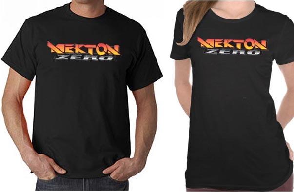 Mock Ups of the Mekton Zero T-Shirt