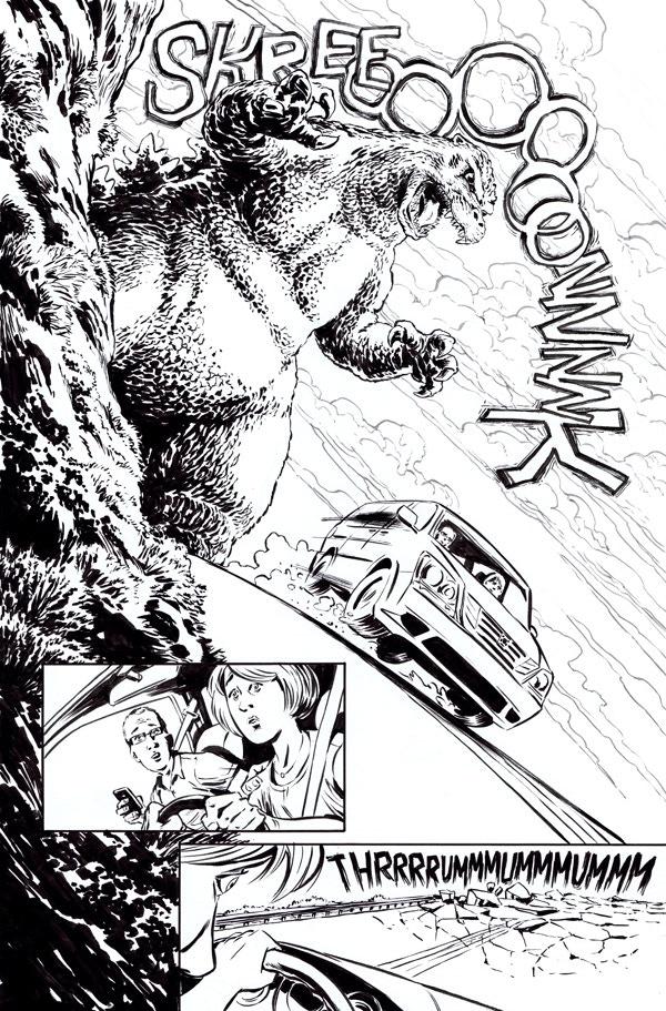 Godzilla issue 6, page 2