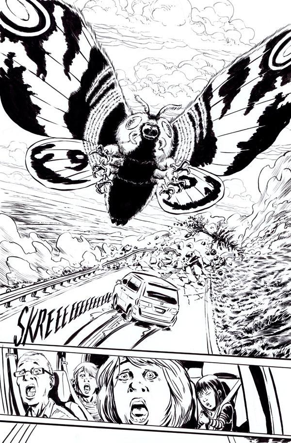Godzilla issue 6, page 3