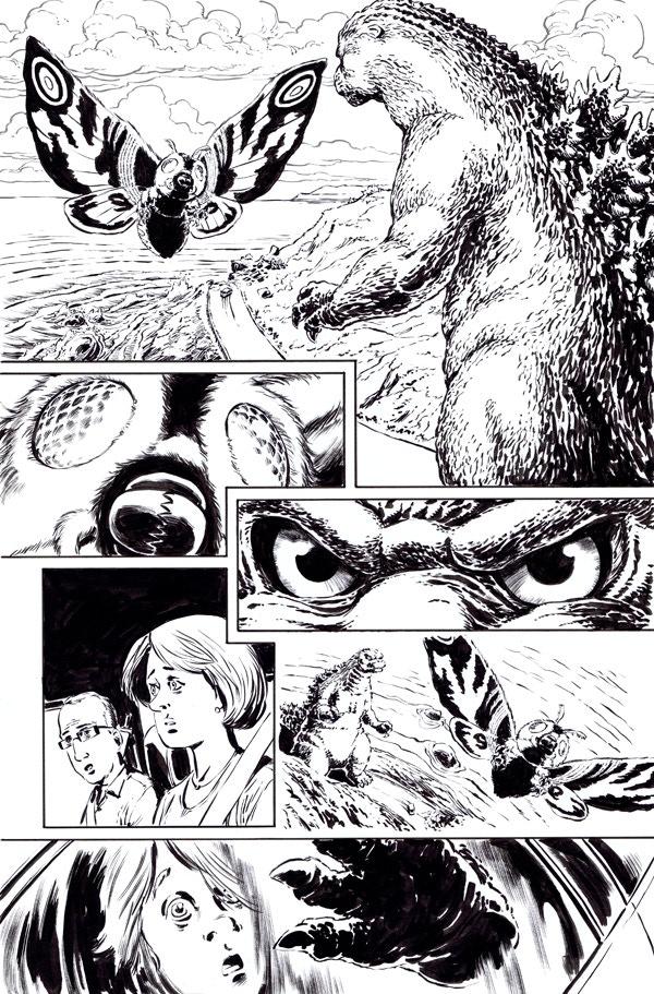 Godzilla issue 6, page 7