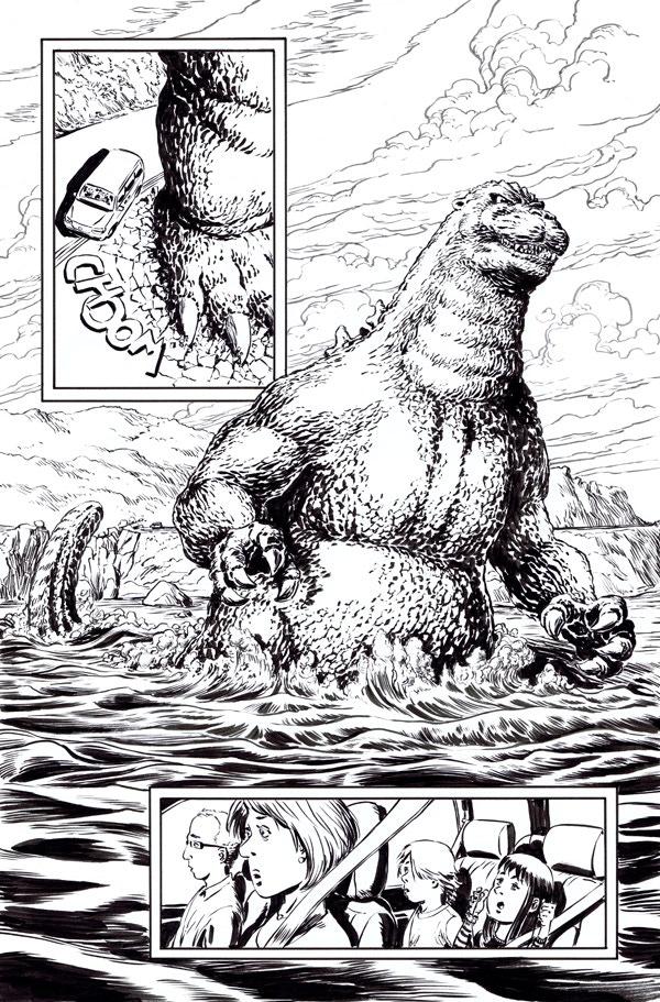 Godzilla issue 6, page 8