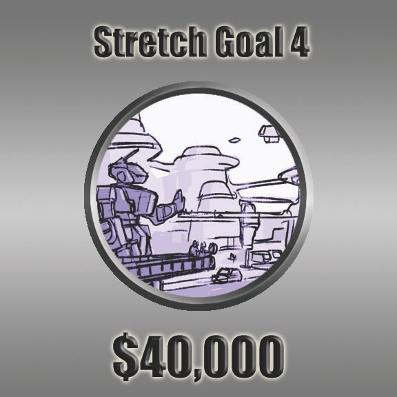 At Stretch Goal #4 we'll print the Mekton Zero Core Book in stunning full color