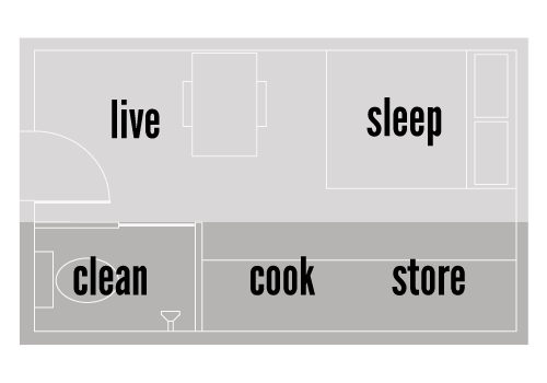The FOUNDhouse floor plan