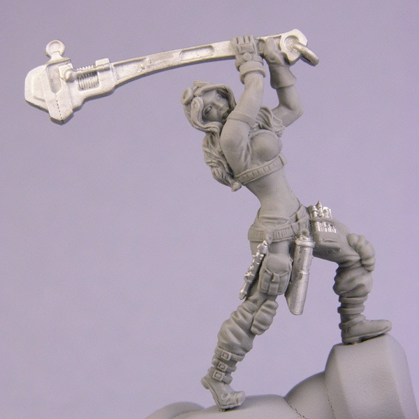 Bombshell Special Edition Maelee Set by Bombshell Miniatures