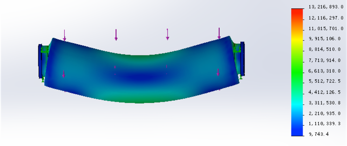 200kg Stress Testing with FEA Analysis
