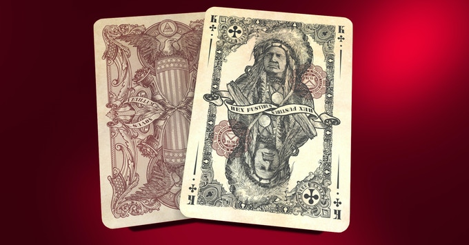 Unlimited and Limited Reserve Note King of Clubs, click image for higher res
