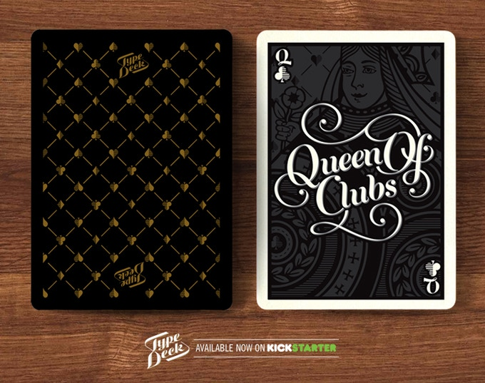 A mock up of the updated Backs and a Queen card - The Queen of Clubs.