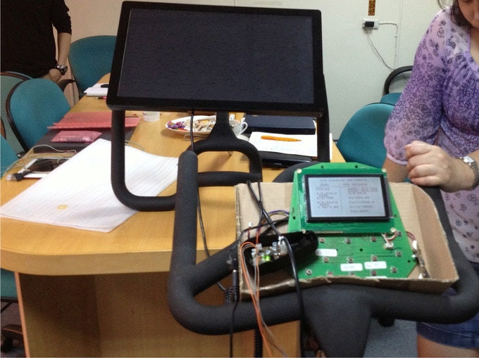 With our bike manufacturing partner testing metrics and readings coming from the bike sensors
