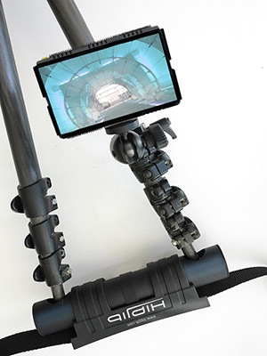 a monitor mounting clip is part of the hipjib package