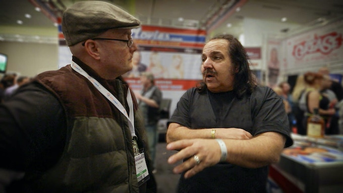 Interviewing Ron Jeremy, a well known porn star
