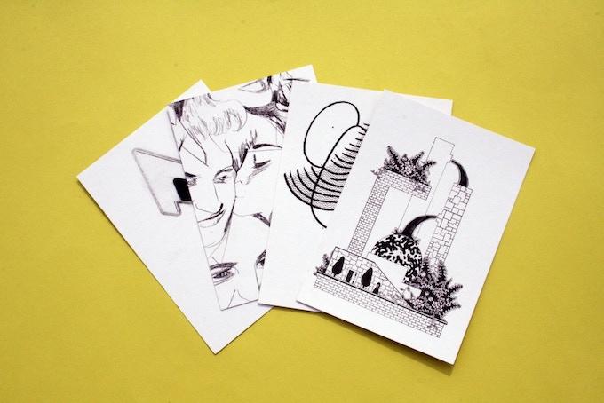 Postcard set- Limited edition Limner #3
