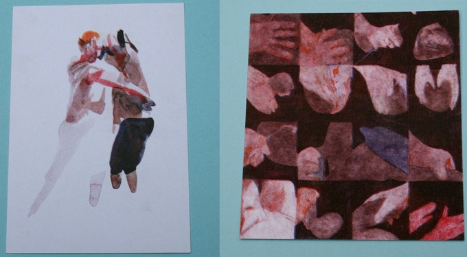 Postcard prints by Miriam Elgon (included in the Studio Operative bundle)