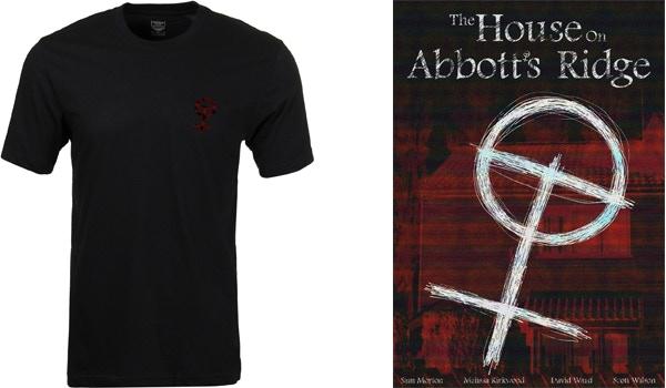The Abbott's Ridge T-shirt and poster