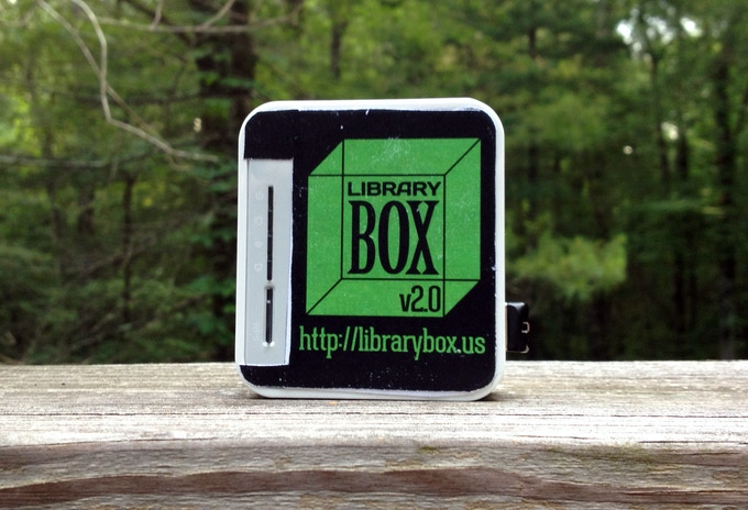 Limited Edition Kickstarter LibraryBox v2.0