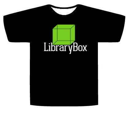 Limited Edition Kickstarter LibraryBox v2.0 T-Shirt