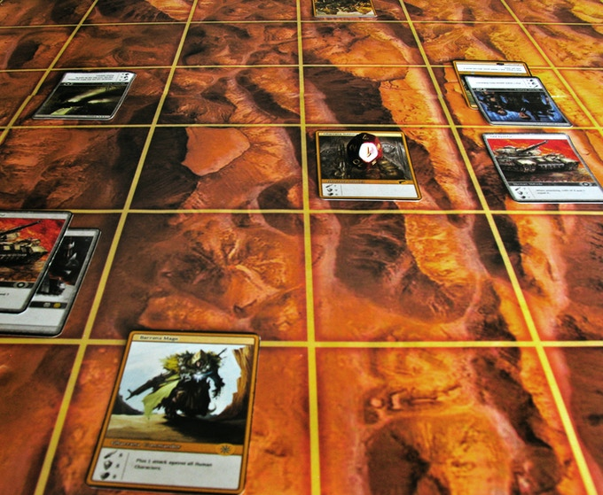Spatial tactics are everything in a game of War Command. Your cards are only as good as their access to the enemy.