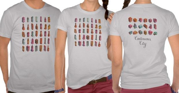 Continuous City Shirt Preview