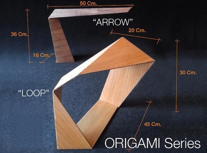 Dimension when folded.