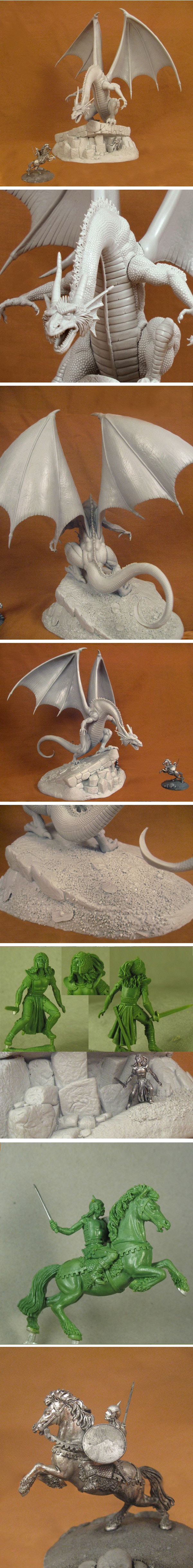 Pictures of the Special Edition Elmore Dragons Diorama