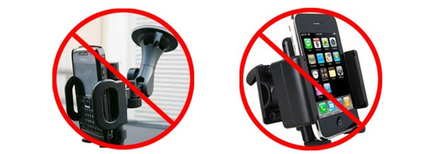 The only things on the market were large bulky plastic devices that got in the way of your driving vision or would mount over your air vents or down near your cup holder, not good