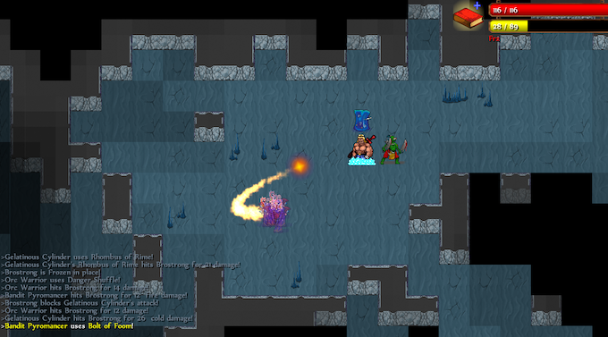 Travel through underground caves to take shortcuts across the overworld!