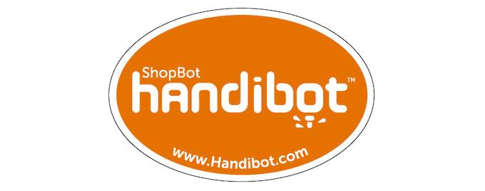 Handibot bumper sticker