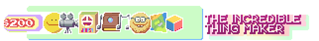 The ability to design your very own in-game collectible object! We'll Skype or email and work your idea into Dropsy's world. It may even be used in a major puzzle!