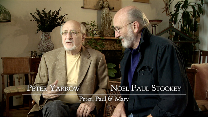 Noel Paul Stookey and Peter Yarrow from Peter, Paul & Mary