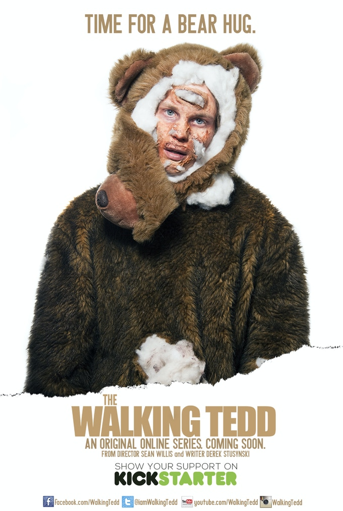The Walking Tedd | One Sheet | Check out the incentives to see how you can own the poster!