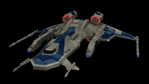 UEA Changdao Heavy Fighter - One of the four playable ships.