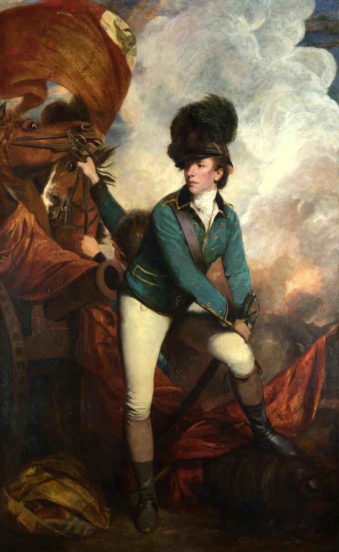 Banastre Tarleton, by Joshua Reynolds