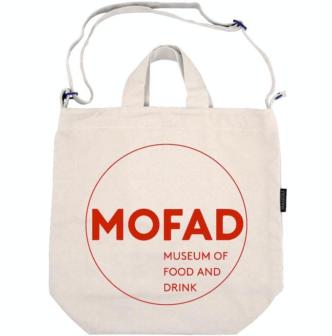 Tote Option 2: MOFAD logo.