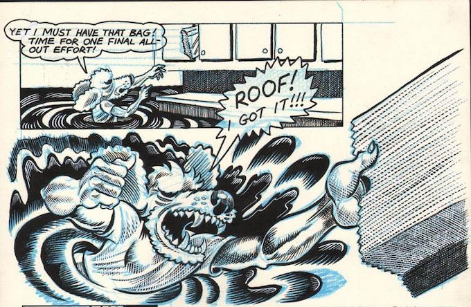 Art from Dog Boy #7 (1987)