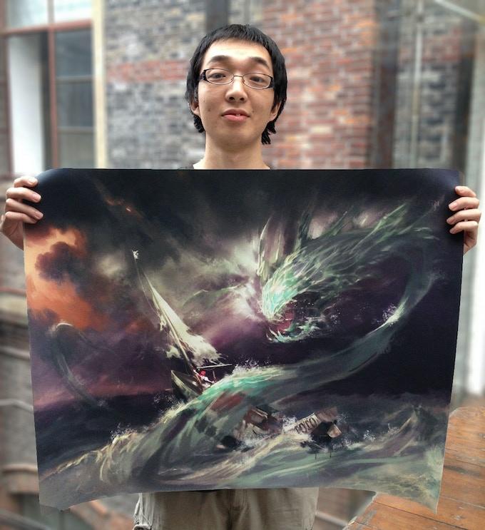 "Shuyan, artist of ""Back to Oz"""