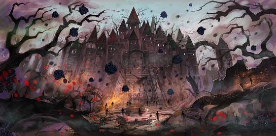 """Rose Kingdom"" -- illus."
