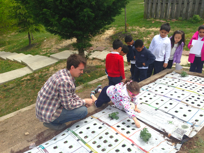 Earth Day 2013 school testing at the Prince William Academy