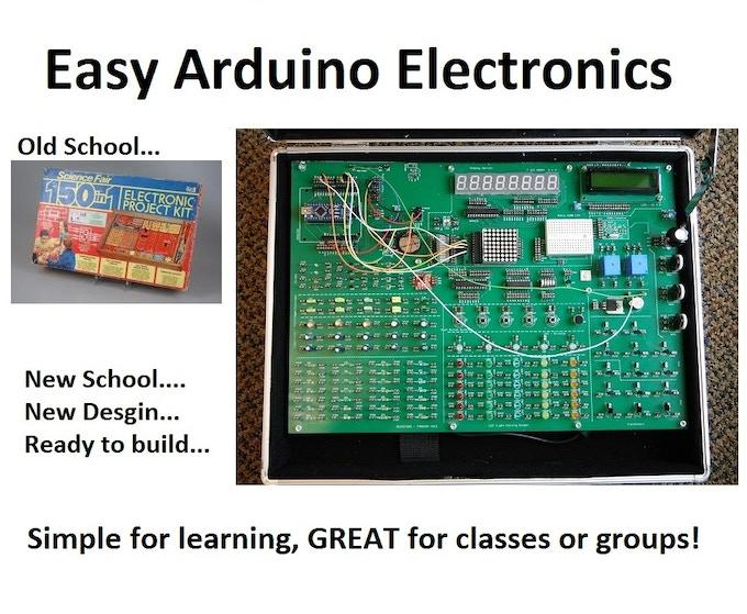DuinoKit - An Electronics and Robotics Arduino Learning Kit