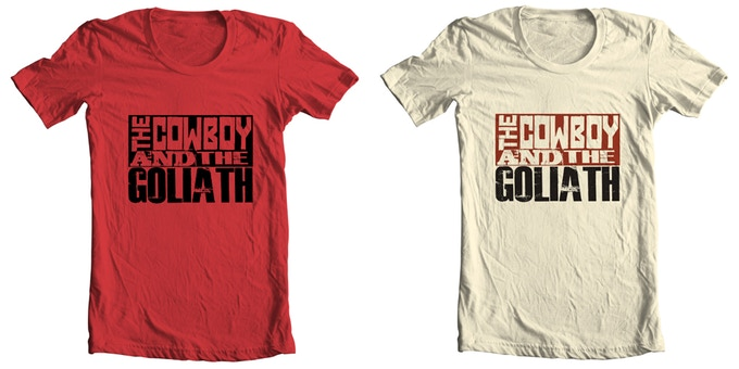 Logo Tee available in Rugged Red or Desert Sand.