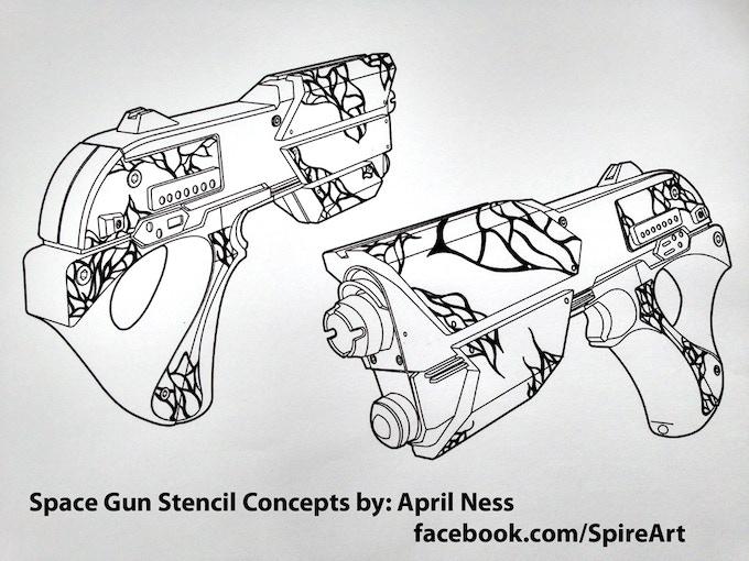Stencil Concepts by April Ness