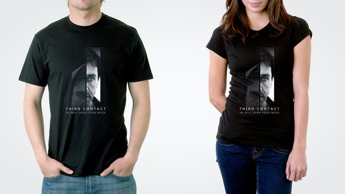 THIRD CONTACT limited edition t-shirt!