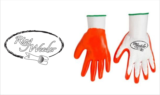 Kickstarter Launch gloves also available in dark grey