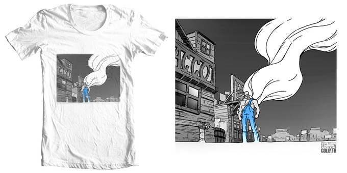"""""""Lonely Goliath"""" Tee."""
