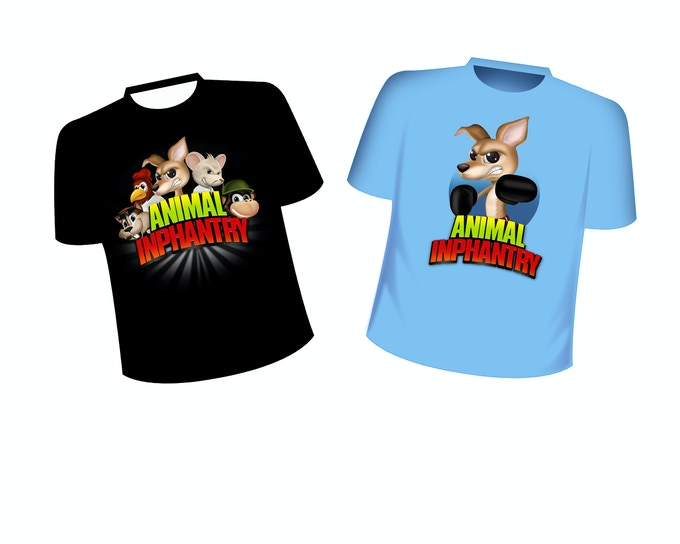 Animal Inphantry tees. up to 7-10 designs to choose from.