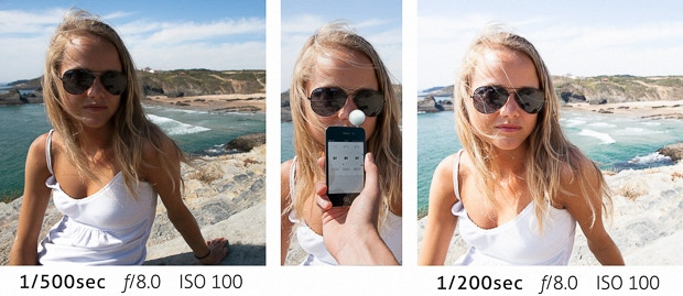 Siting on a beach with a beautiful girl, wondering - is it 1/500 or 1/200?
