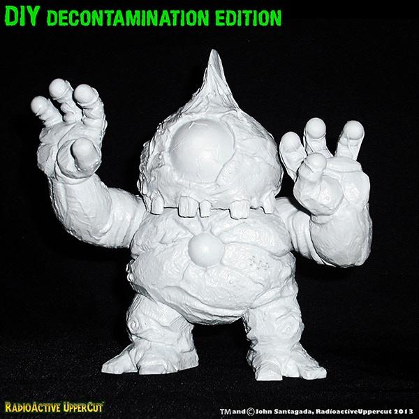 "DIY Blank ""Decontamination Edition' paint master prototype"