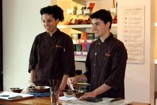 Nica & Sebastian Falcon, our Chocolatiers