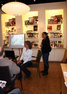 Meet the Chocolate Maker tasting event